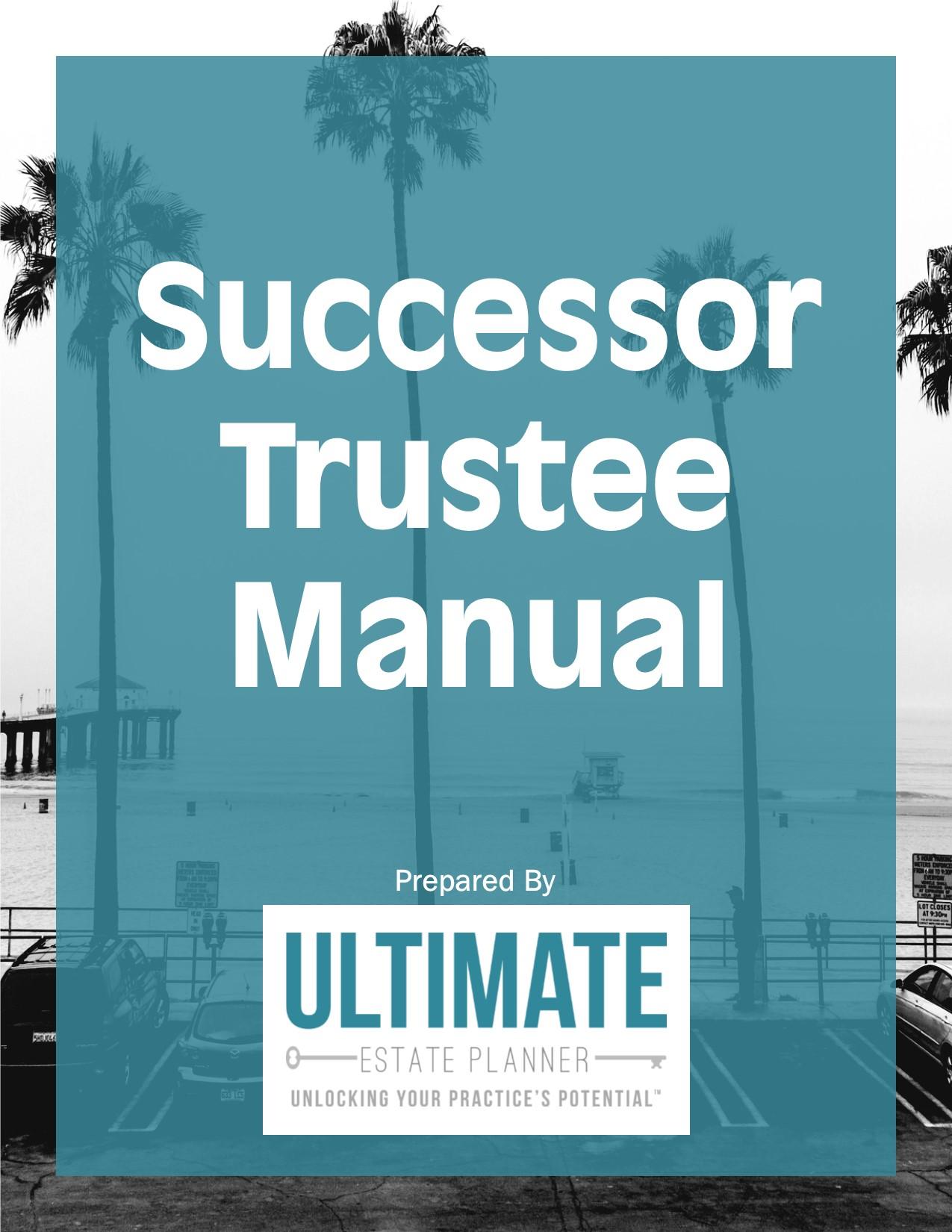successor-trustee-manual-package